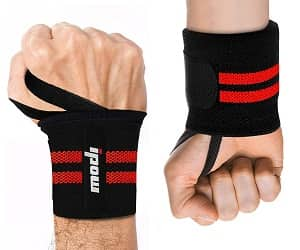 """IPOW 18.5"""" Professional Quality Wrist Straps Support"""