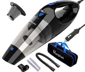 Car Vacuum, Vacplus DC 12V Car Vacuum Cleaner