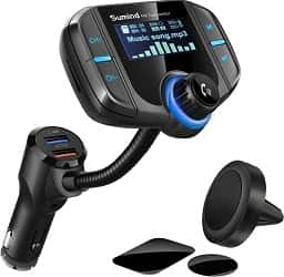 Sumind Wireless Car Bluetooth FM transmitter
