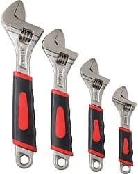 Navegando 4Pcs Adjustable Wrenches